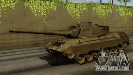 Leopard 1A5 for GTA San Andreas