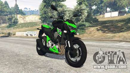 Kawasaki Z800 2014 for GTA 5