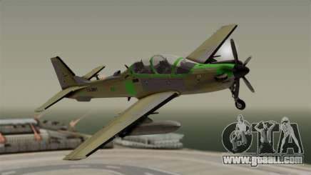 EMB-314 Super Tucano Factory USA for GTA San Andreas