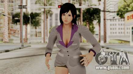 Kokoro Business Suit for GTA San Andreas