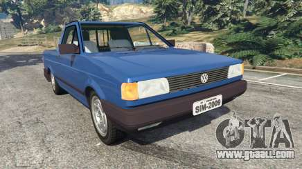 Volkswagen Saveiro 1.6 CLi for GTA 5