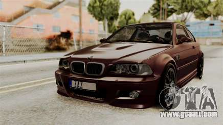 BMW M3 E46 2005 Stock for GTA San Andreas