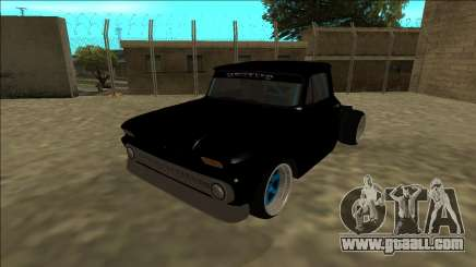 Chevrolet C10 Drift Monster Energy for GTA San Andreas