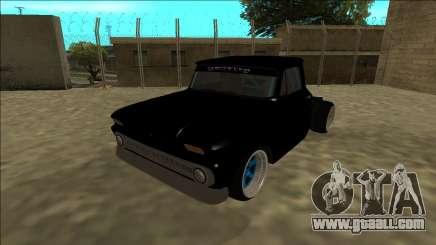 Chevrolet C10 Drift Monster Energy for GTA San Andreas