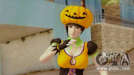 Dead or Alive 5 Mila Halloween for GTA San Andreas