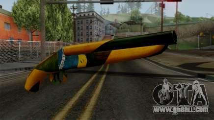 Brasileiro Sawnoff Shotgun v2 for GTA San Andreas