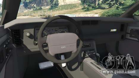 GTA 5 Chevrolet Camaro IROC-Z [Beta 2] rear right side view