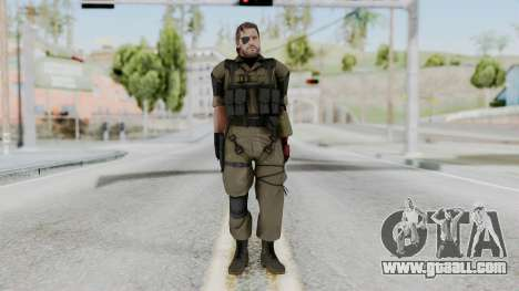 MGSV Phantom Pain Snake (Olive Drab Version) for GTA San Andreas second screenshot