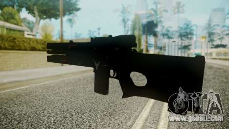 VXA-RG105 Railgun without Stripes for GTA San Andreas second screenshot