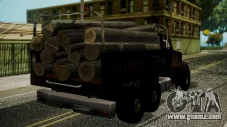 New Flatbed Hard Forest for GTA San Andreas left view