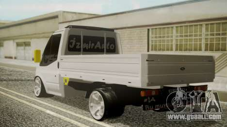 Ford Transit Hasta Ticariii for GTA San Andreas left view