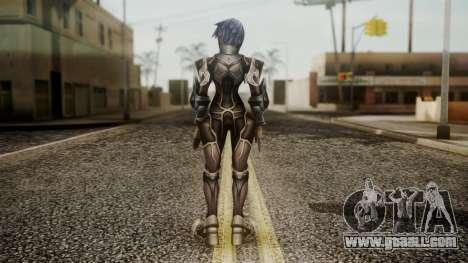 Kingdom Hearts Birth by Sleep - Armor Aqua for GTA San Andreas third screenshot