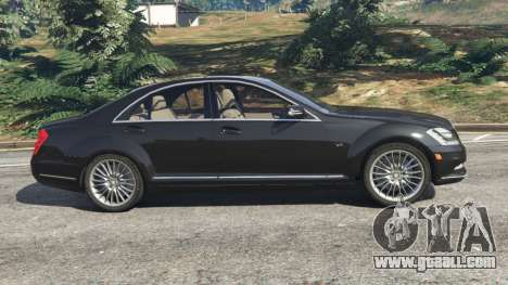 Mercedes-Benz S600 (W221) 2009 for GTA 5