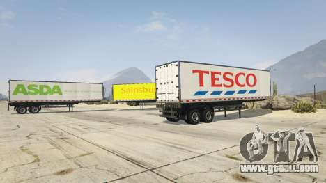 GTA 5 Real Brand Truck Trailers third screenshot