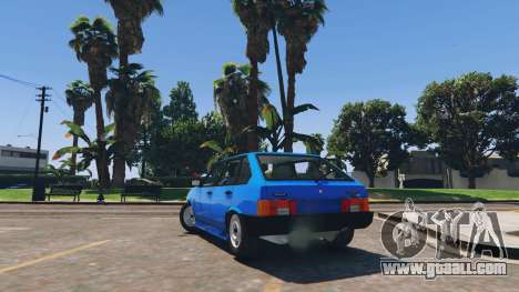 GTA 5 Ваз 21093i (Tunable) v1.1 [FINAL] rear left side view