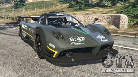 Pagani Zonda R 2009 v0.5 for GTA 5