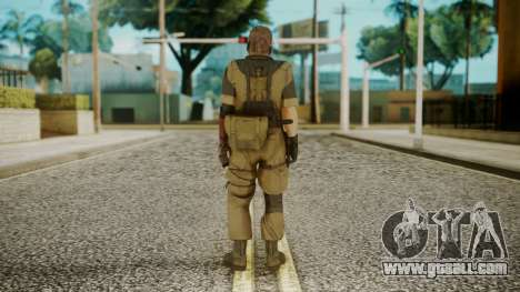 Venom Snake Olive Drab for GTA San Andreas third screenshot