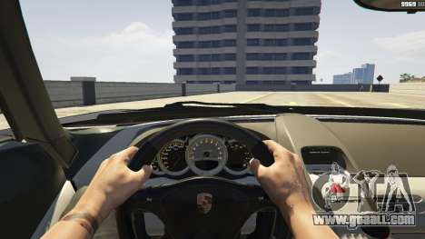 GTA 5 Porsche Carrera GT 1.2 front right side view