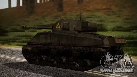 Sherman MK VC Firefly for GTA San Andreas left view