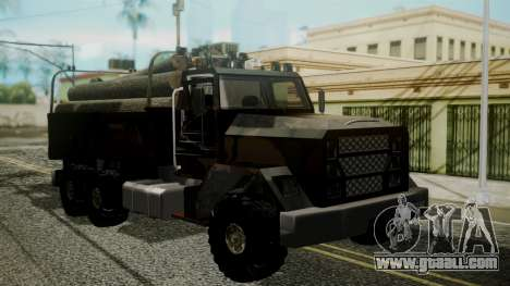 New Flatbed Hard Forest for GTA San Andreas
