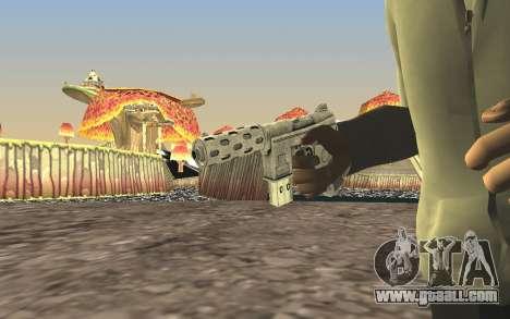 GTA 5 Tec-9 for GTA San Andreas forth screenshot