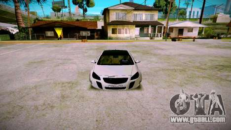Opel Insignima SCREAM for GTA San Andreas back view
