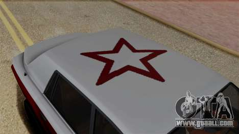 Morningstar Justice (Super Diamond) from SR3 for GTA San Andreas back view
