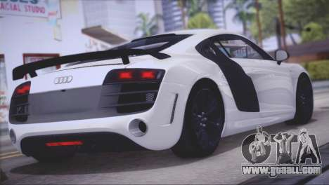 Audi R8 GT 2012 Sport Tuning V 1.0 for GTA San Andreas right view