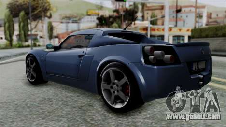 Opel Speedster Turbo 2004 Stock for GTA San Andreas left view