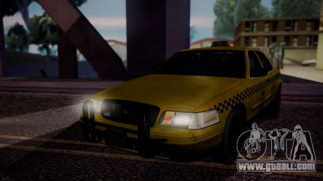 Raccoon City Taxi from Resident Evil ORC for GTA San Andreas