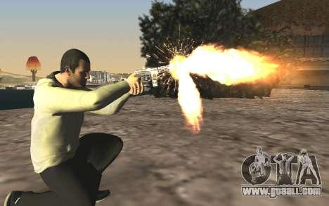 GTA 5 Tec-9 for GTA San Andreas sixth screenshot