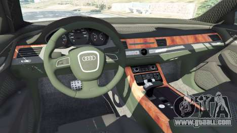 GTA 5 Audi A8 front right side view