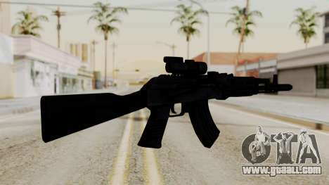 AK-103 with Rifle Dot Aimpoint M2 for GTA San Andreas second screenshot