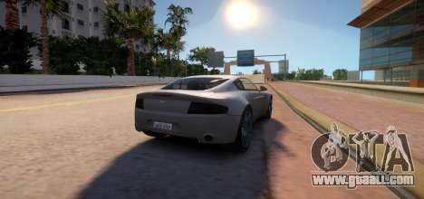 Aston Martin DB9 Vice City Deluxe for GTA 4