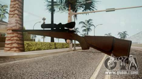 Low Poly Hunting Rifle for GTA San Andreas second screenshot