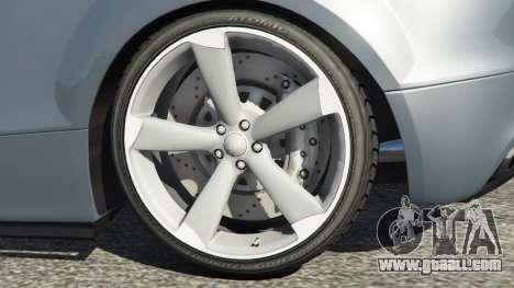 GTA 5 Audi TT RS 2013 rear right side view