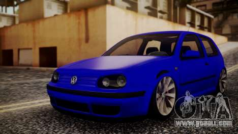 Volkswagen Golf 4 for GTA San Andreas
