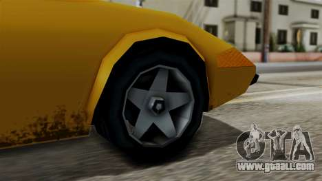 Stinger from Vice City Stories for GTA San Andreas back left view