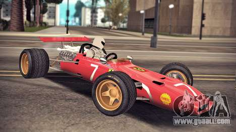 Ferrari 312 F1 for GTA San Andreas