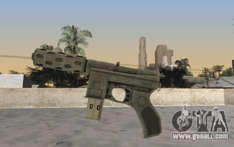 GTA 5 Tec-9 for GTA San Andreas second screenshot