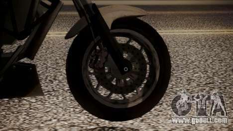 GTA 5 Dinka Thrust for GTA San Andreas back left view
