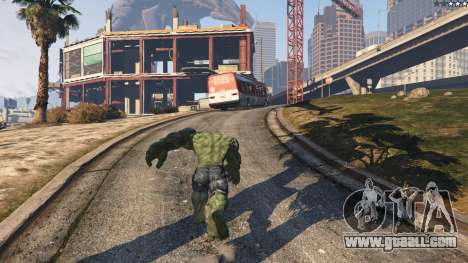 GTA 5 The Hulk fifth screenshot