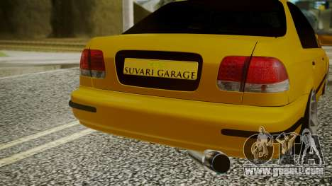 Honda Civic Sedan for GTA San Andreas