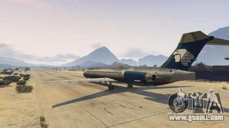GTA 5 McDonnell Douglas MD-80 second screenshot