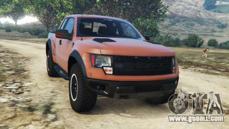 Ford F-150 SVT Raptor 2012 v2.0 for GTA 5