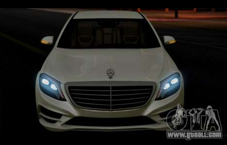 Mercedes Benz S63 W222 Quality Items for GTA San Andreas side view