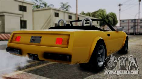 Stinger from Vice City Stories for GTA San Andreas left view