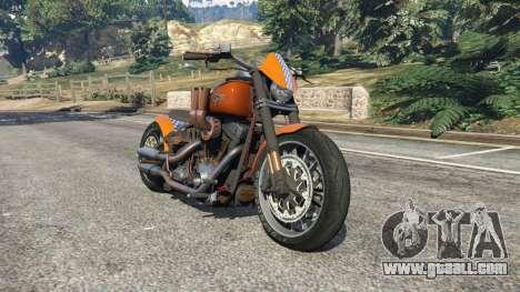 Harley-Davidson Fat Boy Lo Racing Bobber v1.2 for GTA 5