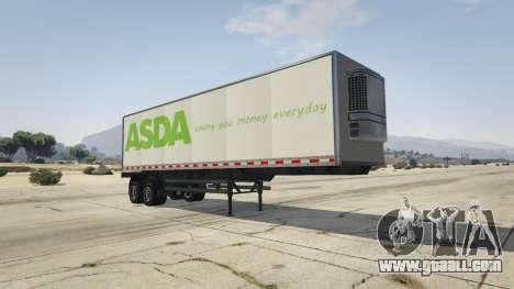 GTA 5 Real Brand Truck Trailers
