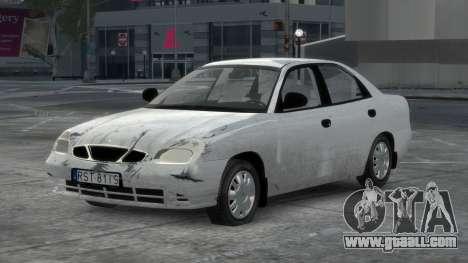 Daewoo Nubira II Sedan S PL 2000 for GTA 4 interior